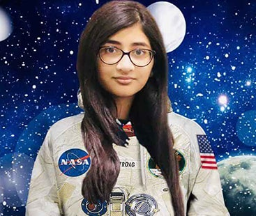 Pakistan's Pride! 12-year-old privileged to work with NASA for one-week's internship