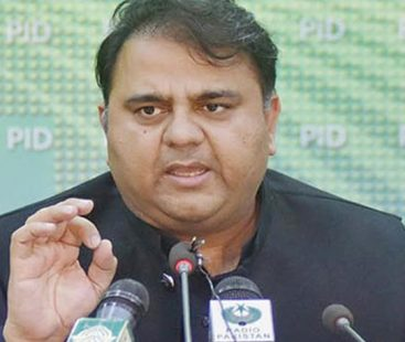 The country's defence budget should be increased: Fawad Chaudhry