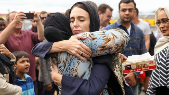 Humanity Won over Terrorism. The Stoic Leader of NZ becomes the face of tragedy through positivity