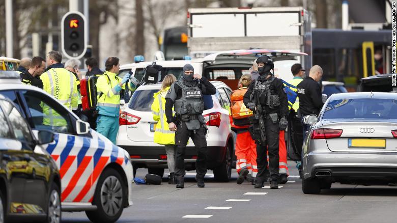 Utrecht tram shooting: Suspect arrested after at least 3 killed