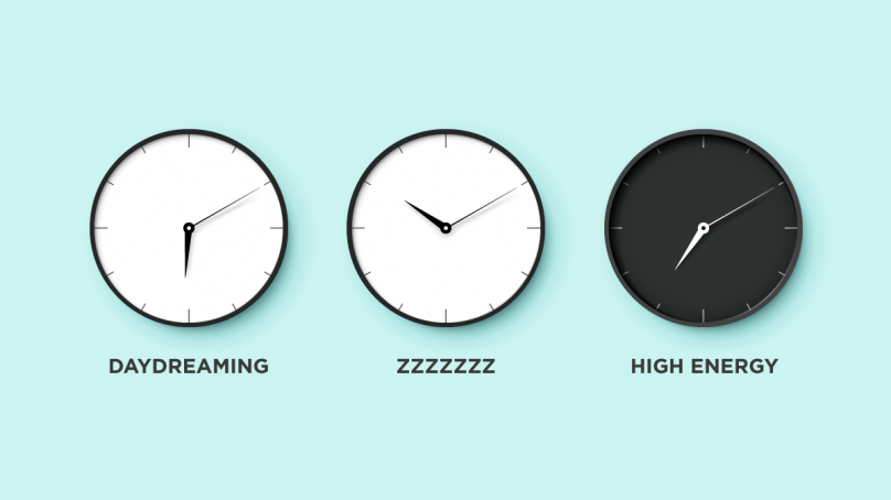 How to know at what times of the day your brain is more efficient