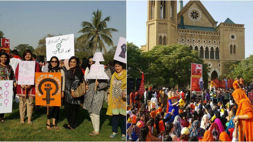 Organizers of International Women's Day March highlight women battling online threats