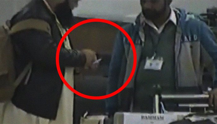 Customs officials seek bribe at the Islamabad airport, video goes viral