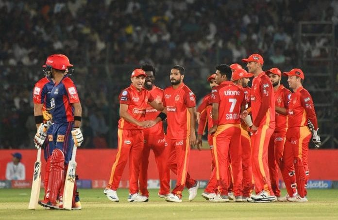 Islamabad United defeat Karachi Kings and qualify for the second eliminator