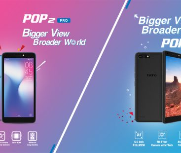 TECNO Comes Up with New Entry Level Charmers of the Market; Pop 2 and Pop 2 PRO
