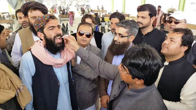 Adults will be vaccinated against polio in Balochistan