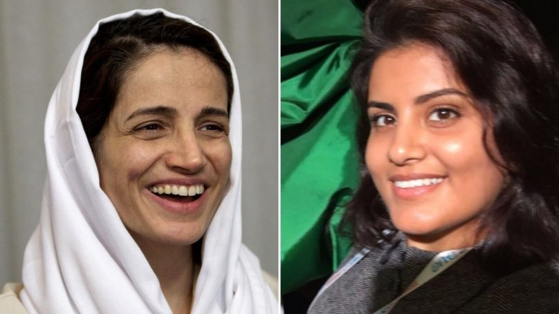 Saudi Arabia and Iran share a mutual disdain for women who speak up