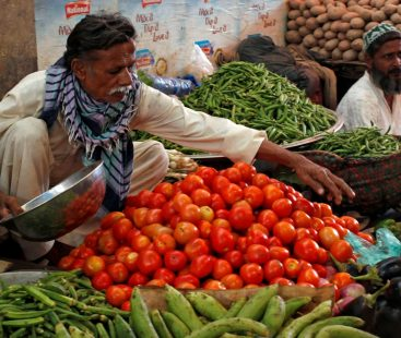 Prices of tomato and chilli hit high in local market