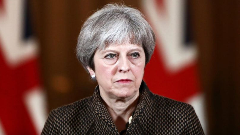 Theresa May must resign in exchange for approving Brexit agreement