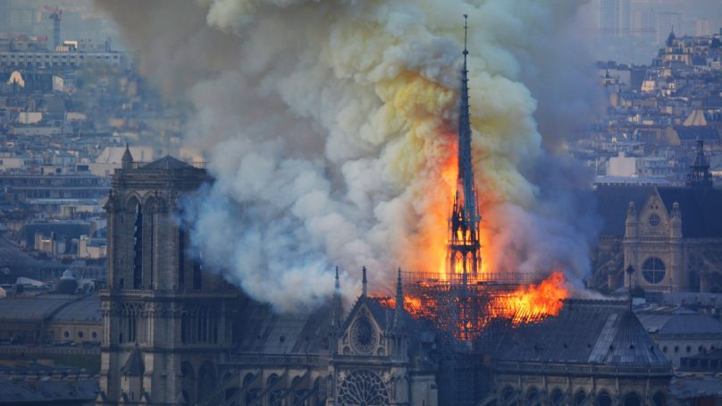 Notre Dame Cathedral fire lead to catastrophic damage