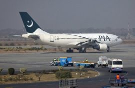 PIA flight cleared after bomb hoax
