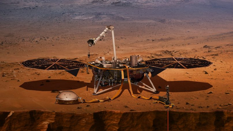 Mars: NASA records earthquake on the red planet for the first time