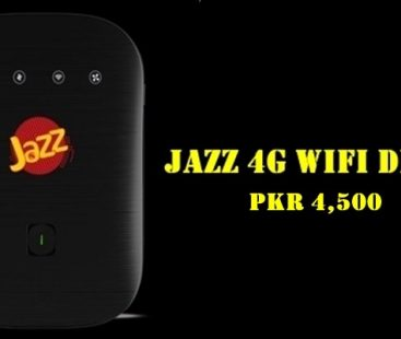 Mobilink Jazz Internet Device Packages Wifi and Mifi 3G/4G
