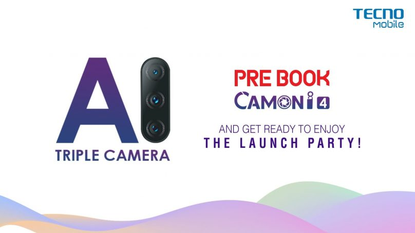 TECNO CAMON i4: The first triple camera of Camon series