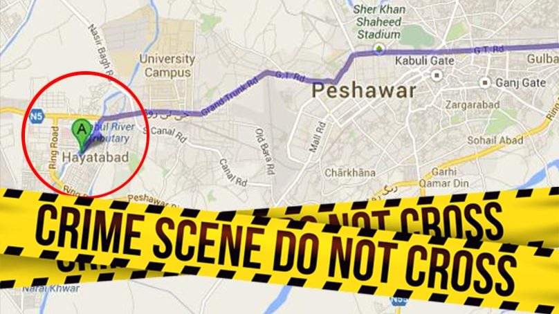 Three terror suspects killed in Peshawar's Hayatabad Operation
