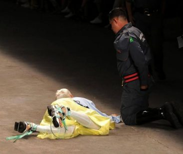 Watch: Male model dies after collapsing on catwalk at Sao Paulo Fashion Week