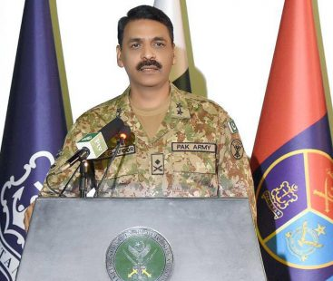 DG ISPR Asif Ghafoor hails verdict of ICJ as win for Pakistan