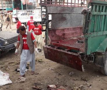 Twenty dead, scores injured in blast at Quetta's Hazarganji