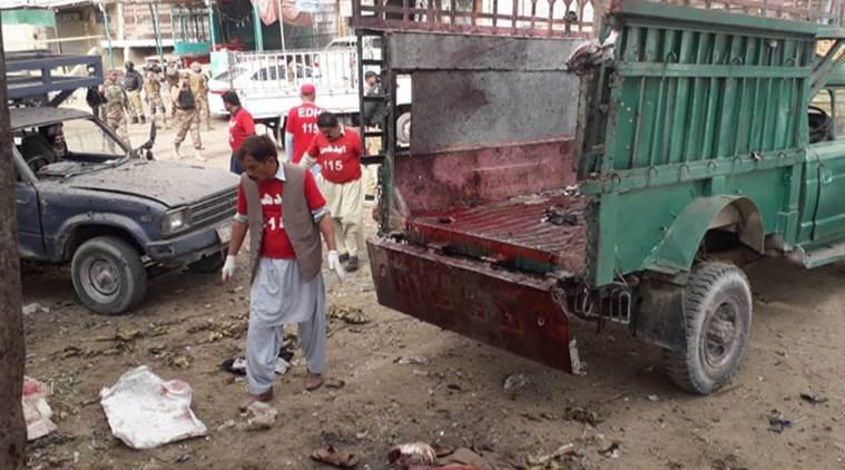 Twenty dead, scores injured in blast at Quetta's Hazarganji