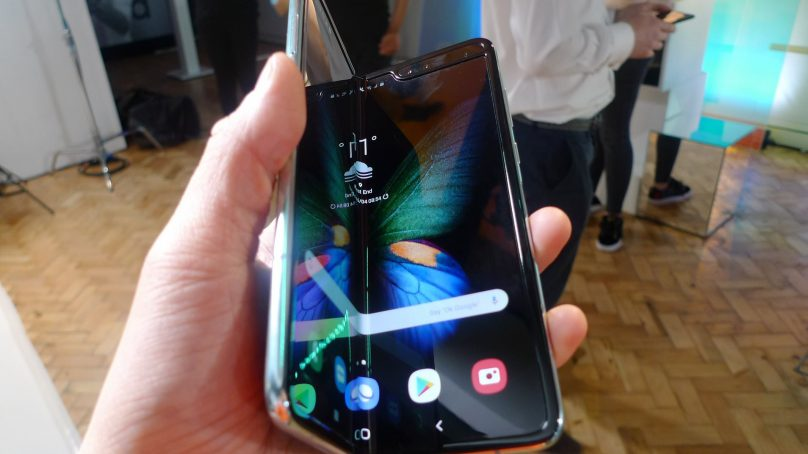 Samsung receives reports of Galaxy Fold breaking for some users