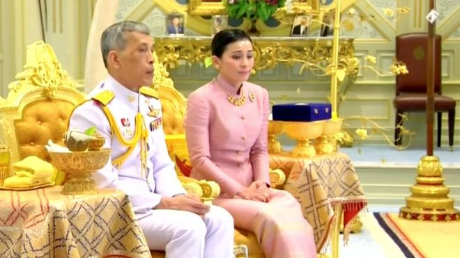 "The ""bodyguard"" who has just become queen of Thailand"