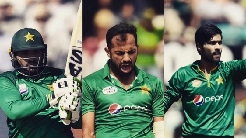 Mohammad Amir, Wahab Riaz and Asif Ali make it to Pakistan's World Cup squad