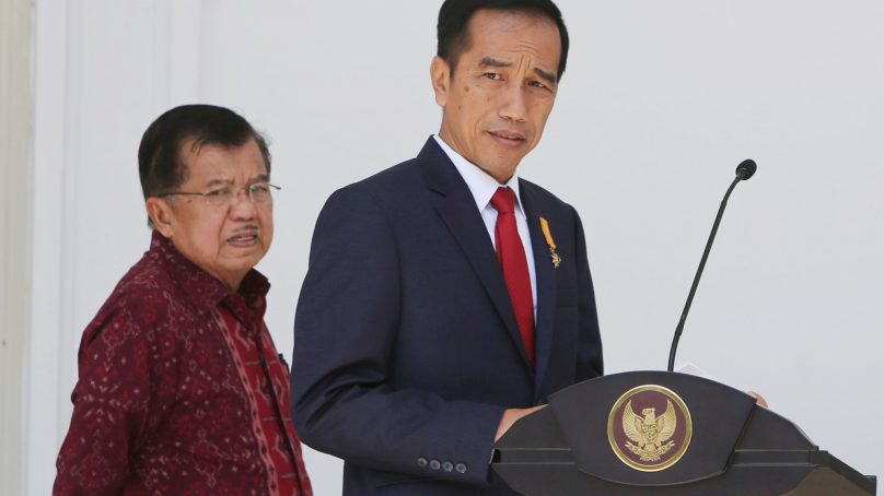 Joko Widodo takes over as Indonesia's president for the second time