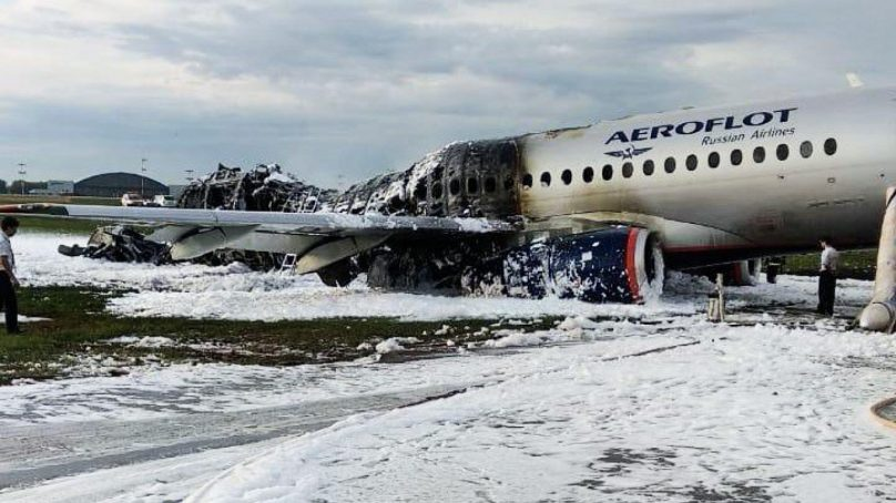 Moscow: at least 41 people die after the emergency landing and fire of an Aeroflot plane