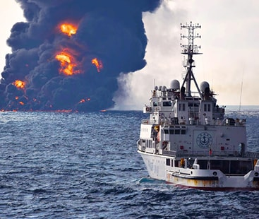 Two Saudi oil tankers attacked near UAE