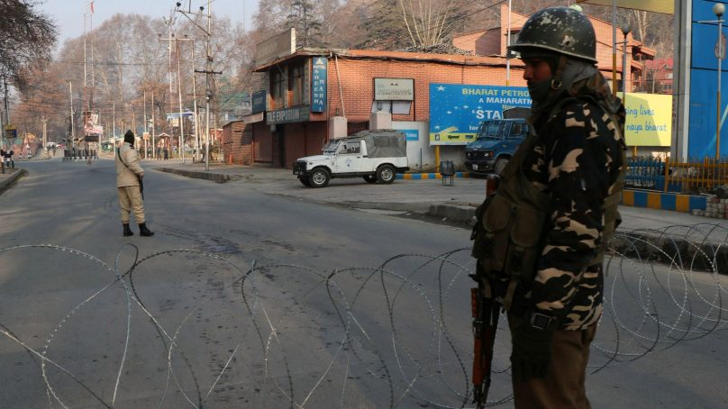 Indian atrocities lead to complete shutdown in Kashmir