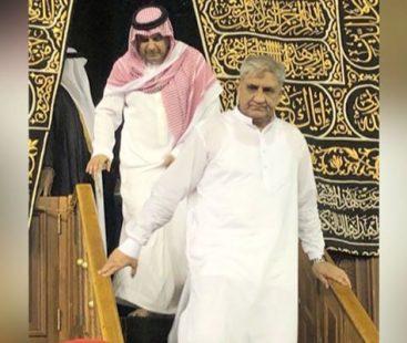 Army chief Qamar Javed Bajwa performs Umrah