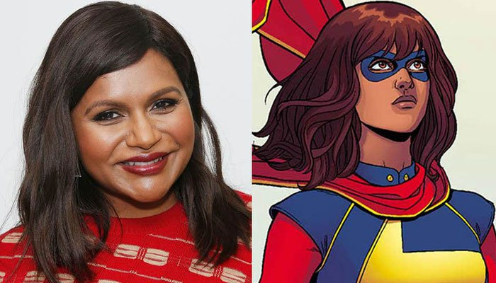 Mindy Kaling in talks with Marvel about Ms. Marvel aka Kamala Khan movie