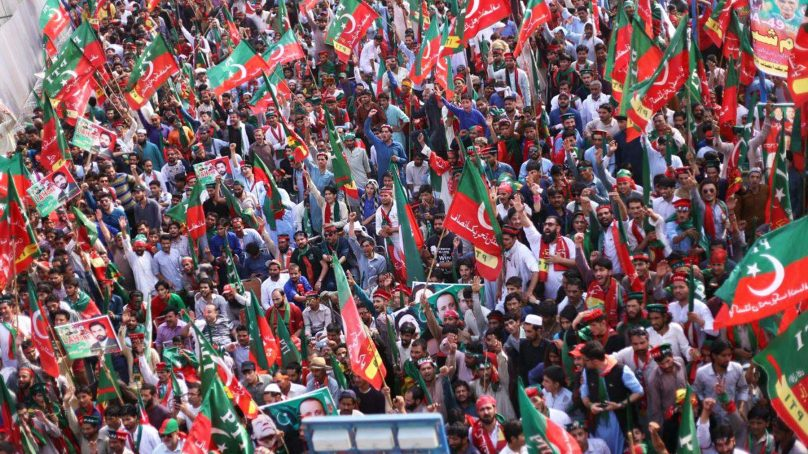Tehreek-e-Insaf dissolves all existing party offices