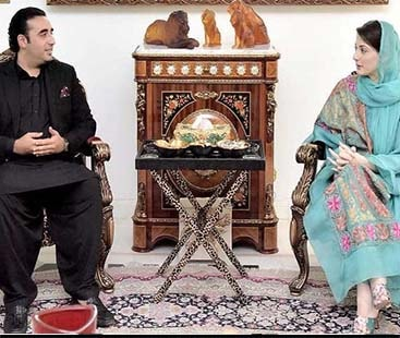 Bilawal, Maryam agree time's up for govt