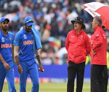 World Cup 2019: Rain forces India-New Zealand semi-final into reserve day