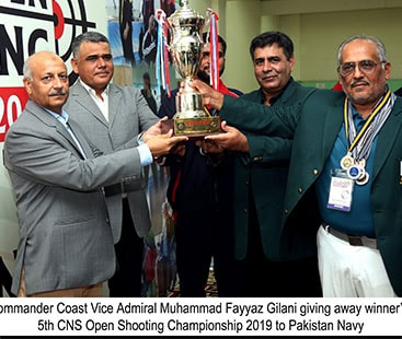 Pakistan Navy Retains Champions Title Of  5th Chief Of The Naval Staff Open Shooting Championship 2019