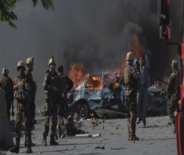 Afghan President Ghani survives blast at campaign rally