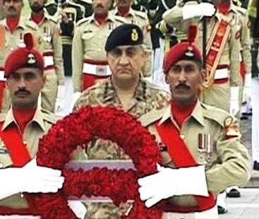 Main ceremony of Defence Day held at GHQ Rawalpindi