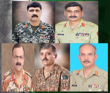 More duties are allocated to lieutenant generals by Pak Army