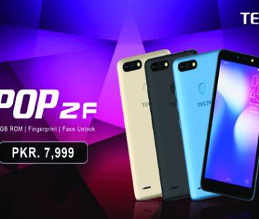 TECNO launches POP 2F in Pakistan