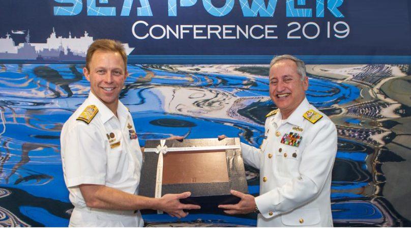 Chief of the Naval staff Admiral Zafar Mahmood Abbasi attends Sea Power Conference in Australia