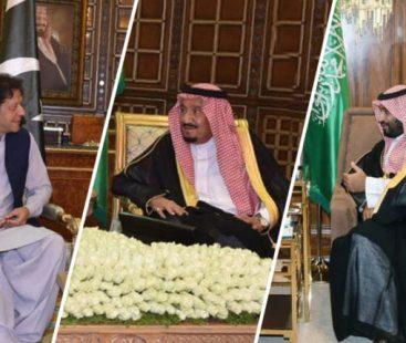 Saudi Arabia agrees to take forward PM Imran's peace initiative
