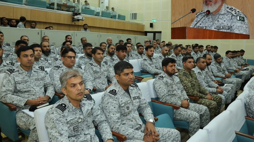 Debrief of Pakistan Navy's Operational Exercise Ribat-2019 held at Karachi