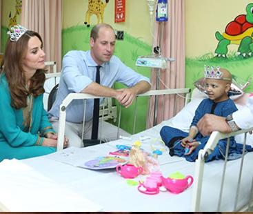 Prince William, Kate Middleton visit Shaukat Khanum Hospital in Lahore