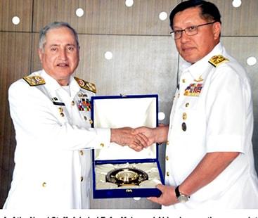 Chief Of The Naval Staff Admiral Zafar Mahmood Abbasi Visits Royal Malaysian Naval Facilities, Meets Naval Field Commanders