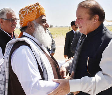 JUI-F chief Maulana Fazlur Rehman to meet Nawaz Sharif today