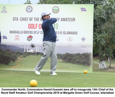 Opening Day Of 13th Chief of the Naval Staff Amatuer Golf Cup