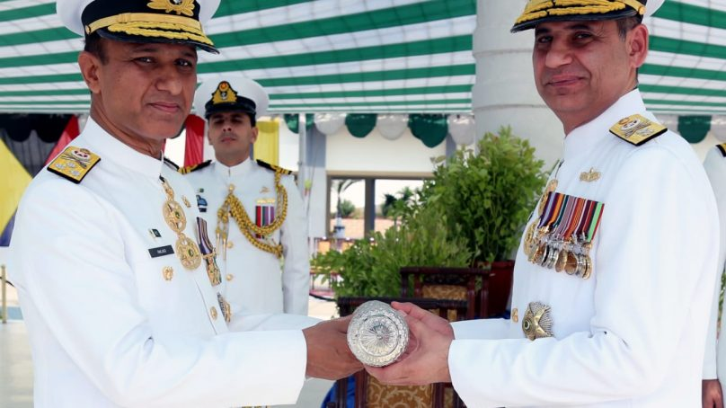 Rear Admiral Zahid Ilyas takes over as Commander Karachi