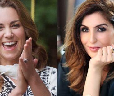 Kate Middleton pens letter of appreciation to Pakistani designer Khadijah Shah