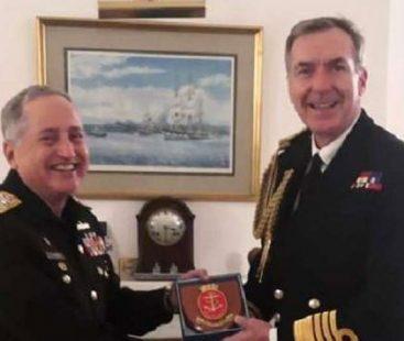 Chief of the Naval Staff Admiral Zafar Mahmood Abbasi Meets Royal Navy's First Sea Lord